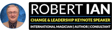Robert Ian Keynote Speaker Logo